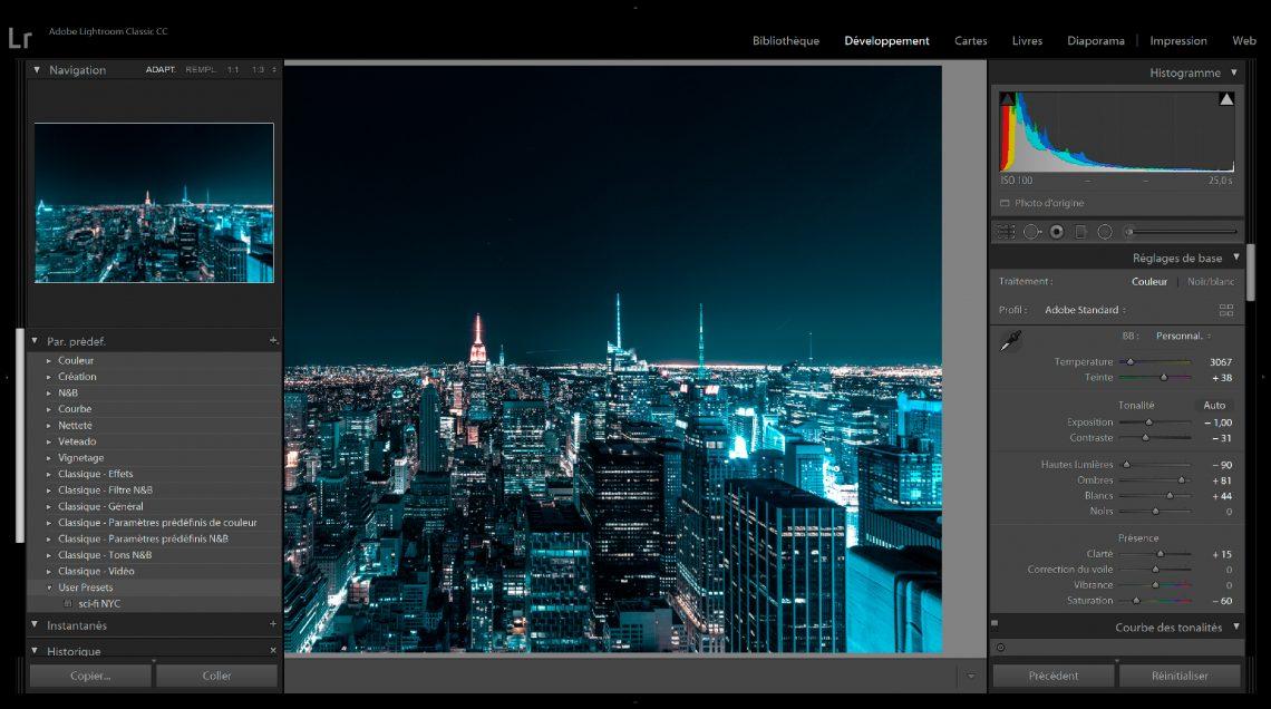 donnez un look futuriste à vos photos