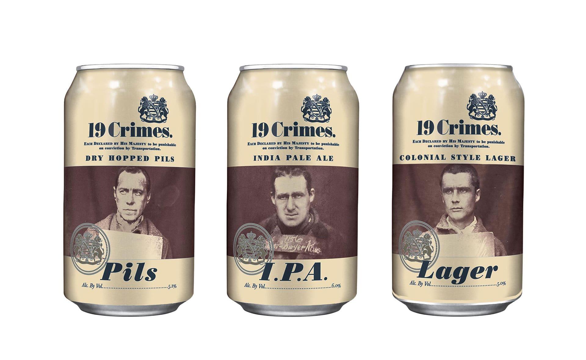 19 Crimes - Bières craft utilisant la réalité augmentée