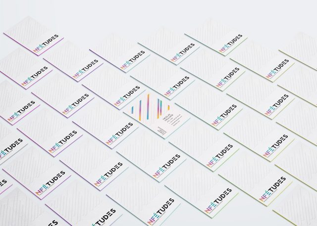 NF Etudes business cards