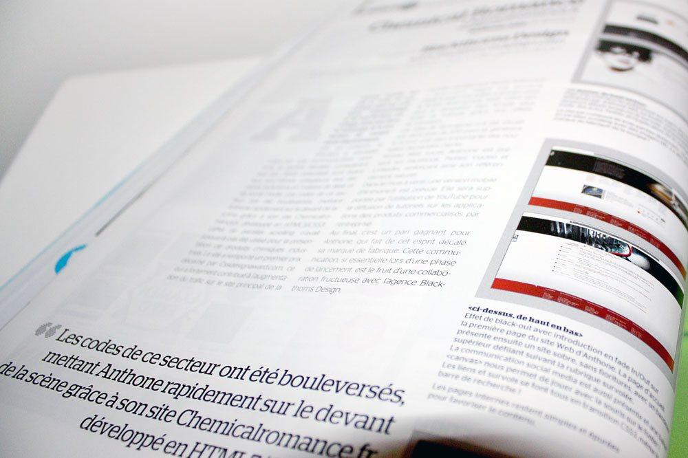 Article dans Webdesign Mag #34