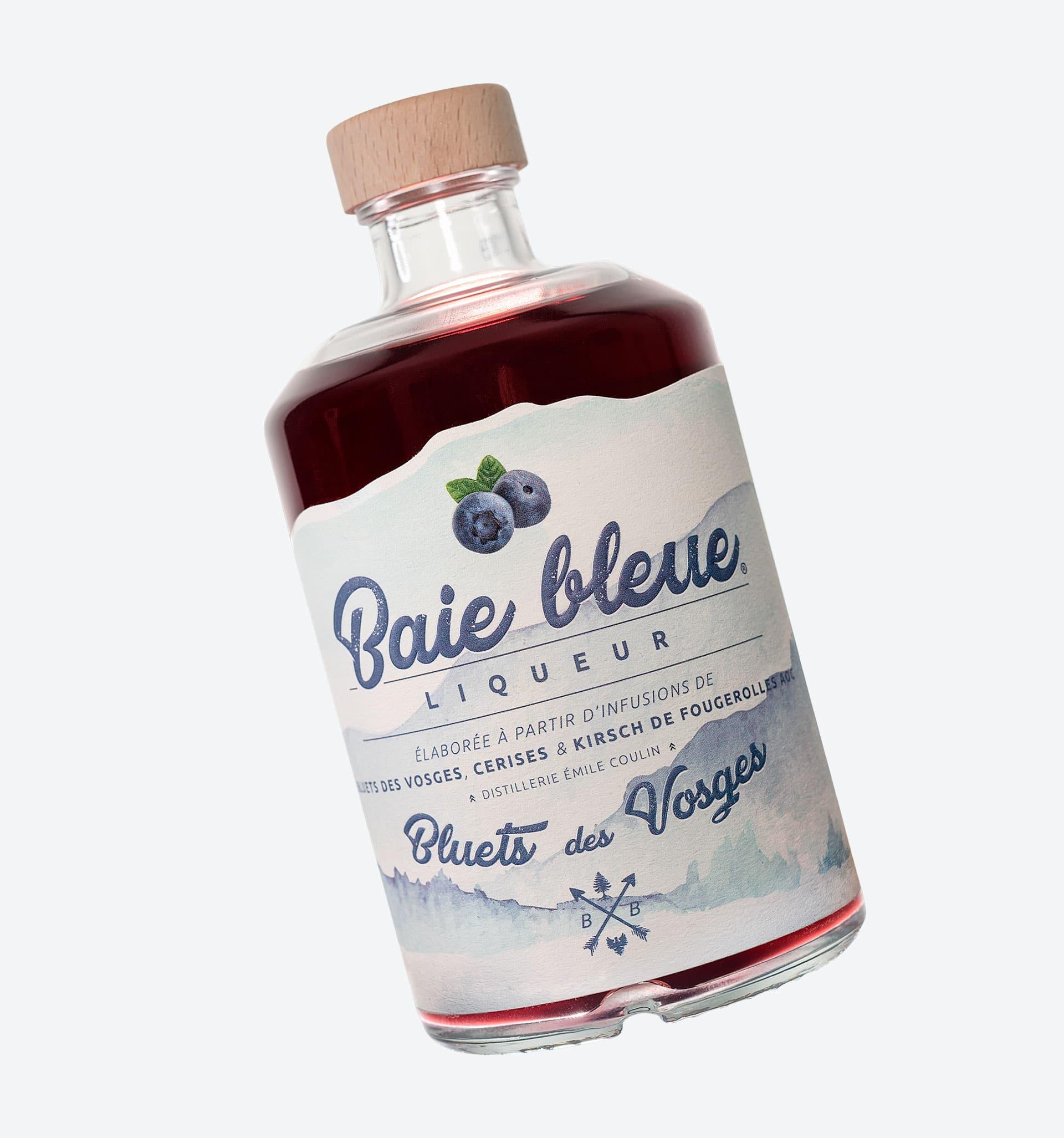 Bottle Blueberry Liqueur