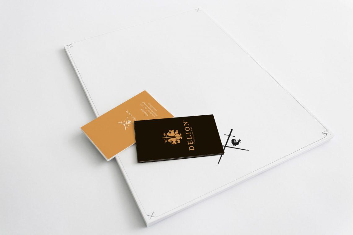 Delion letterhead - branding