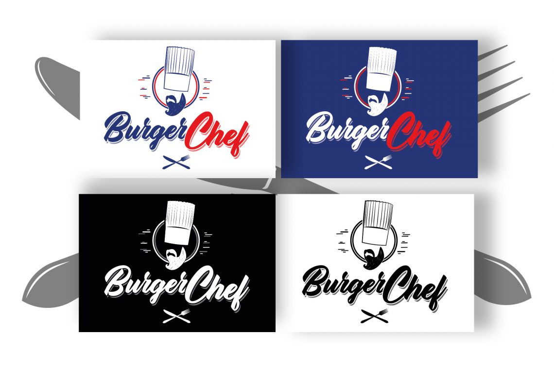 Branding design Burger Chef