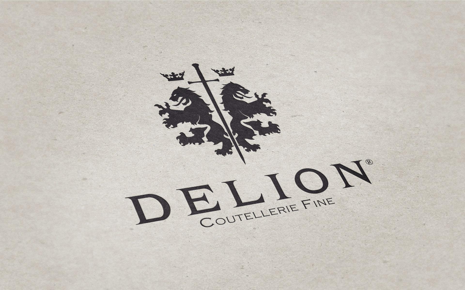 Corporate Identity Delion Logo