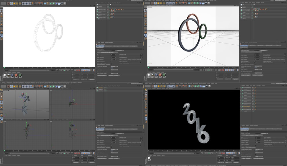Réalisation animation After Effects