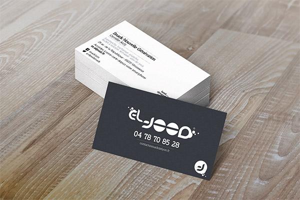 Communication print - Création cartes de visite El Jood