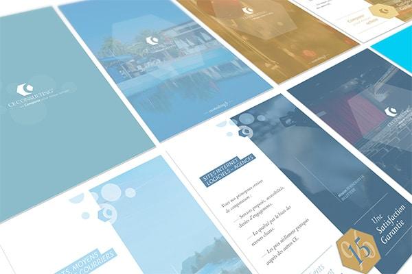Branding design - fiches produits