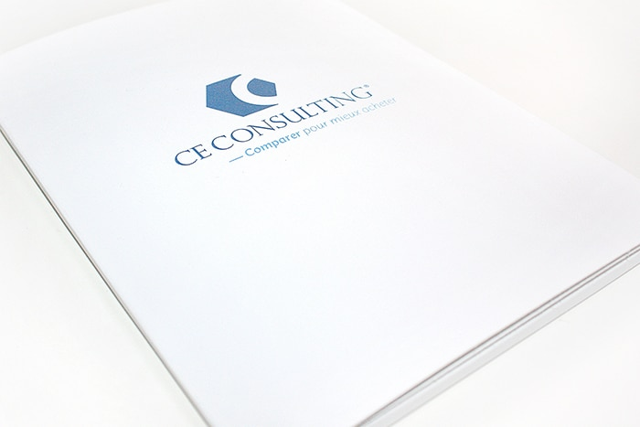 Branding design - Création d'un packaging CE Consulting