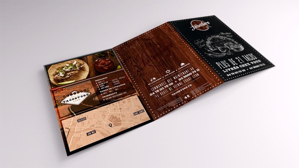 Communication papier Tacostore