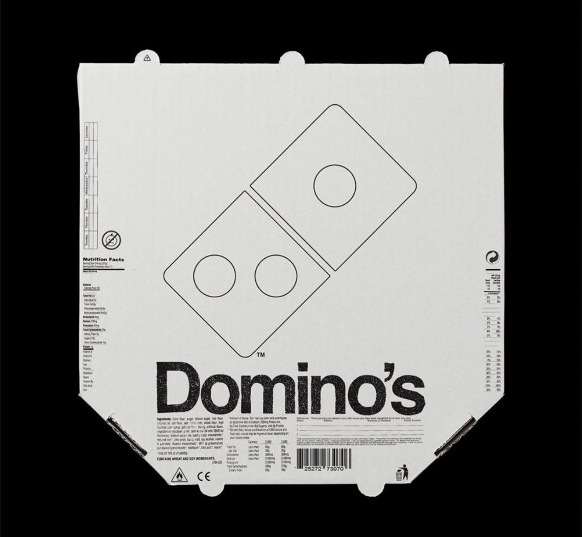 Packaging Domino's