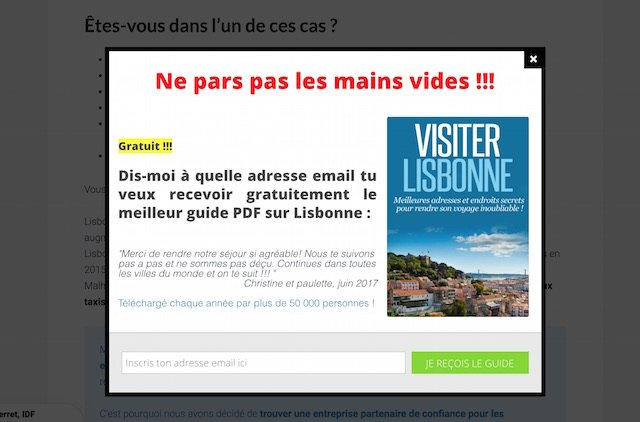 monétiser votre blog-vlog de voyage avec votre guide touristique