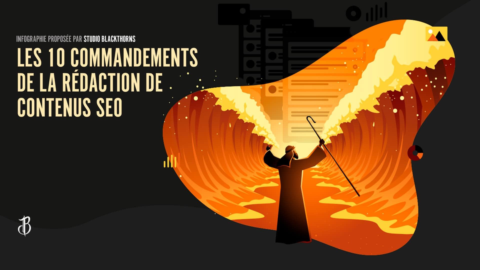 Les 10 commandements de la rédaction de contenus SEO
