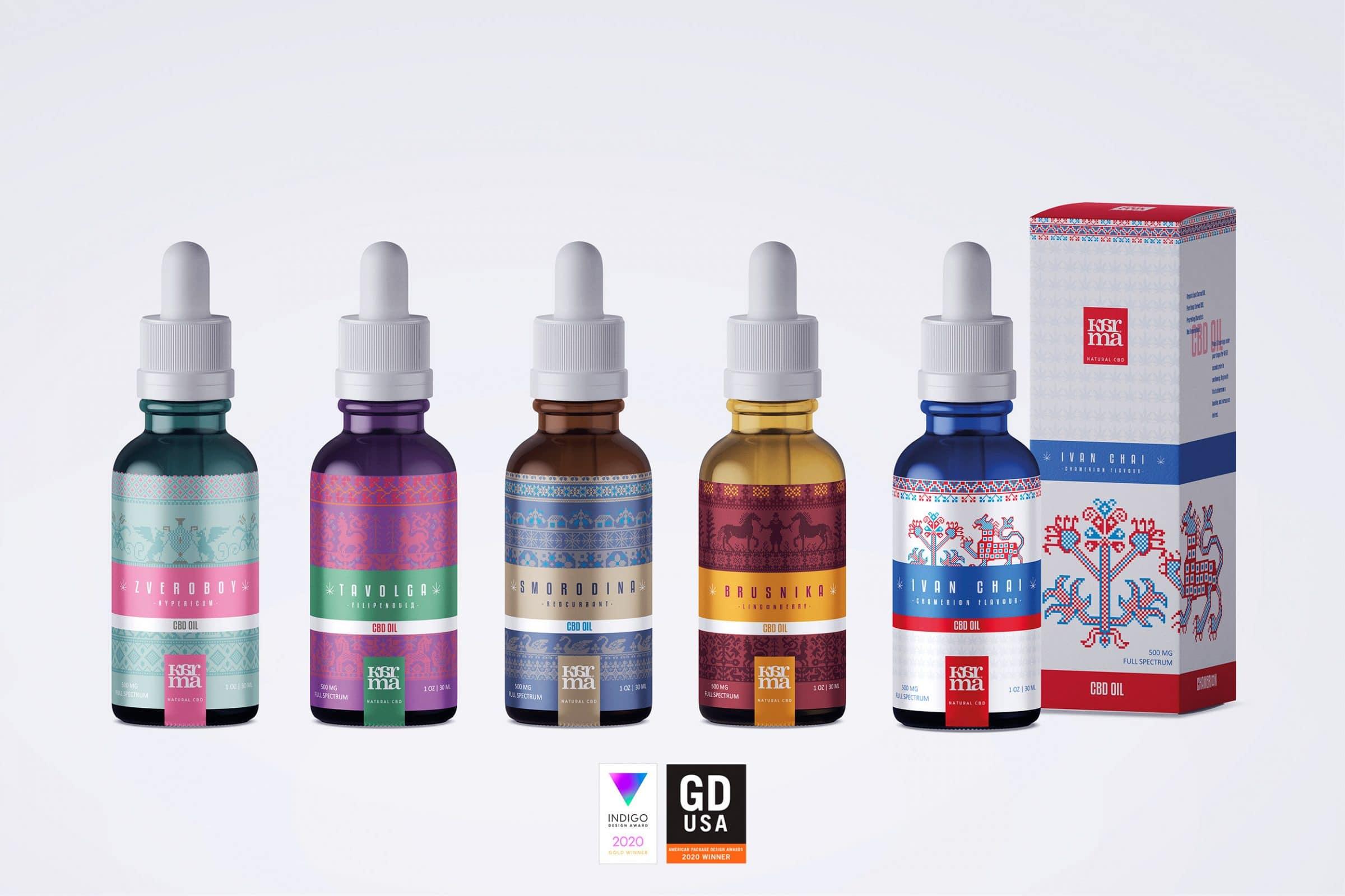 Concept de Cannabis Packaging - Winner GDUSA