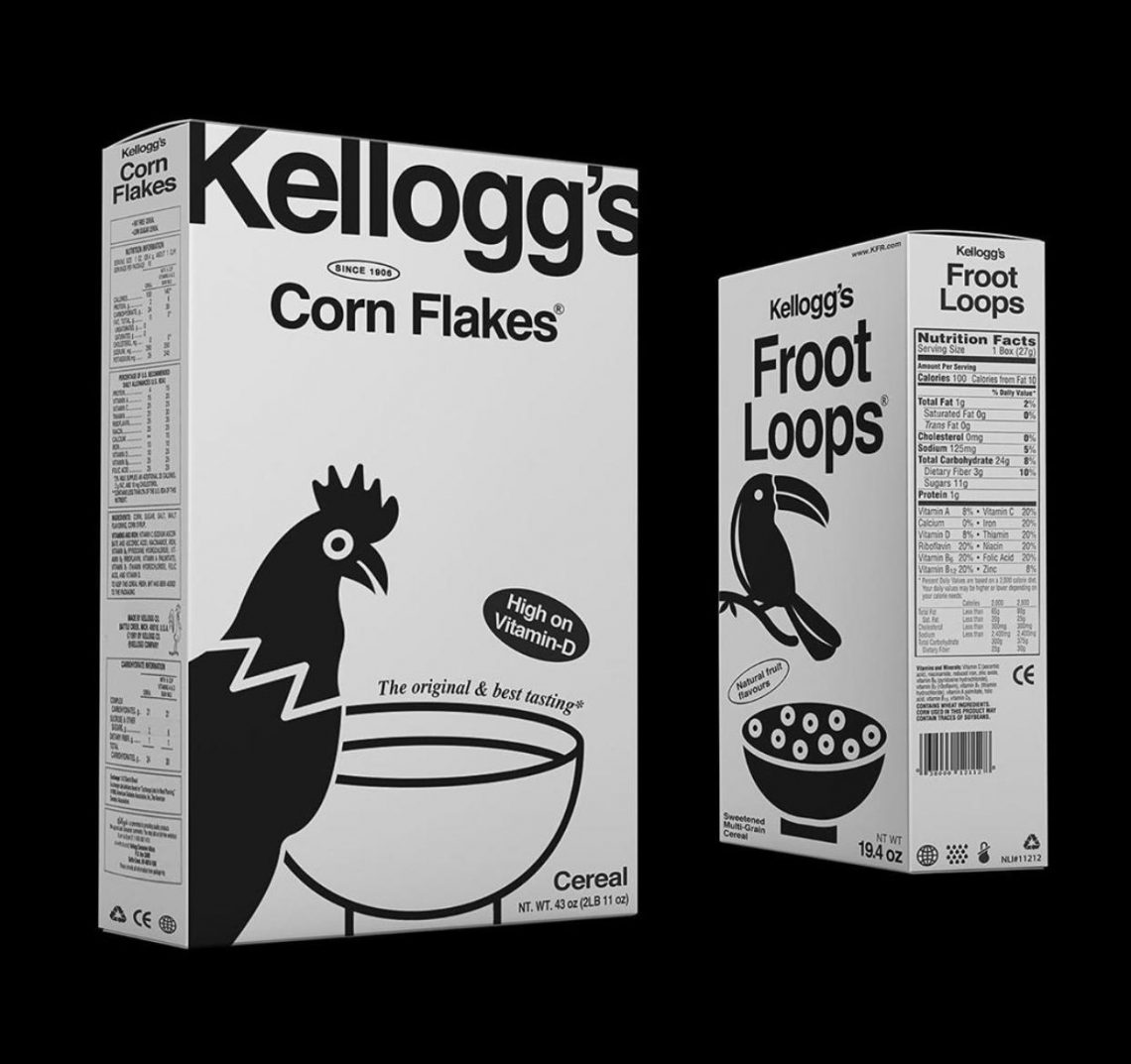 Packaging Kellogg's