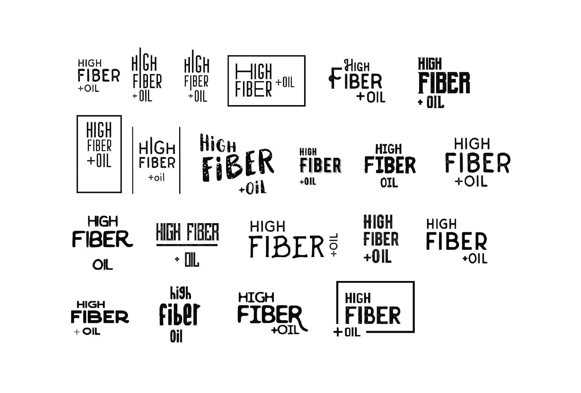 Logo search for l'High Fiber Food