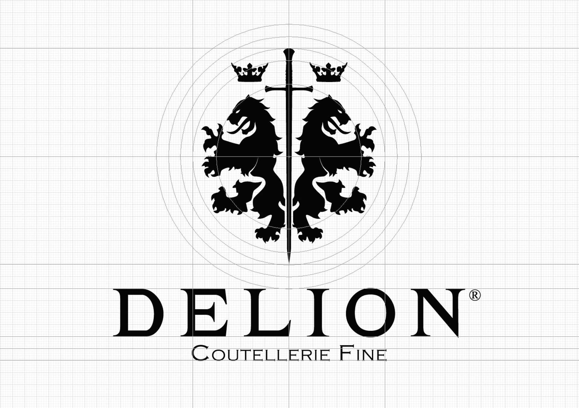 Construction of the Delion logo