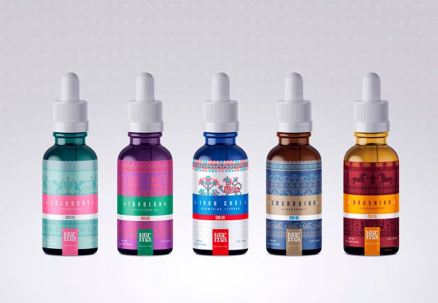 Packaging design produit CBD