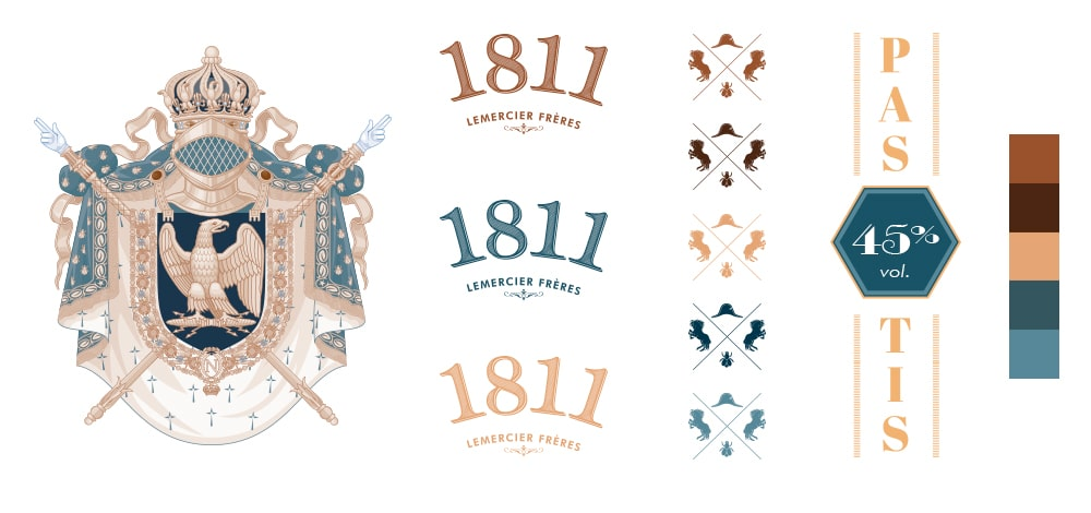 Pastis 1811 - Graphic charter