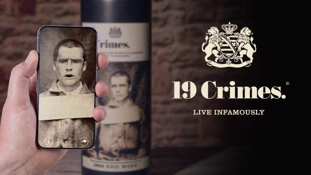 19 Crimes, une gamme de vins australiens utilisant la réalité augmentée