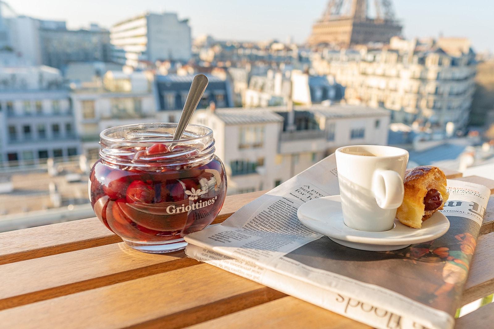 Shooting Griottines Paris