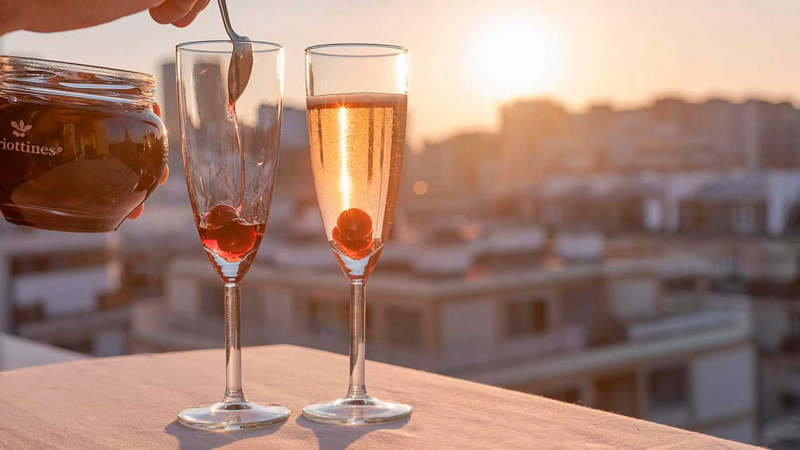 Griottines et Champagne