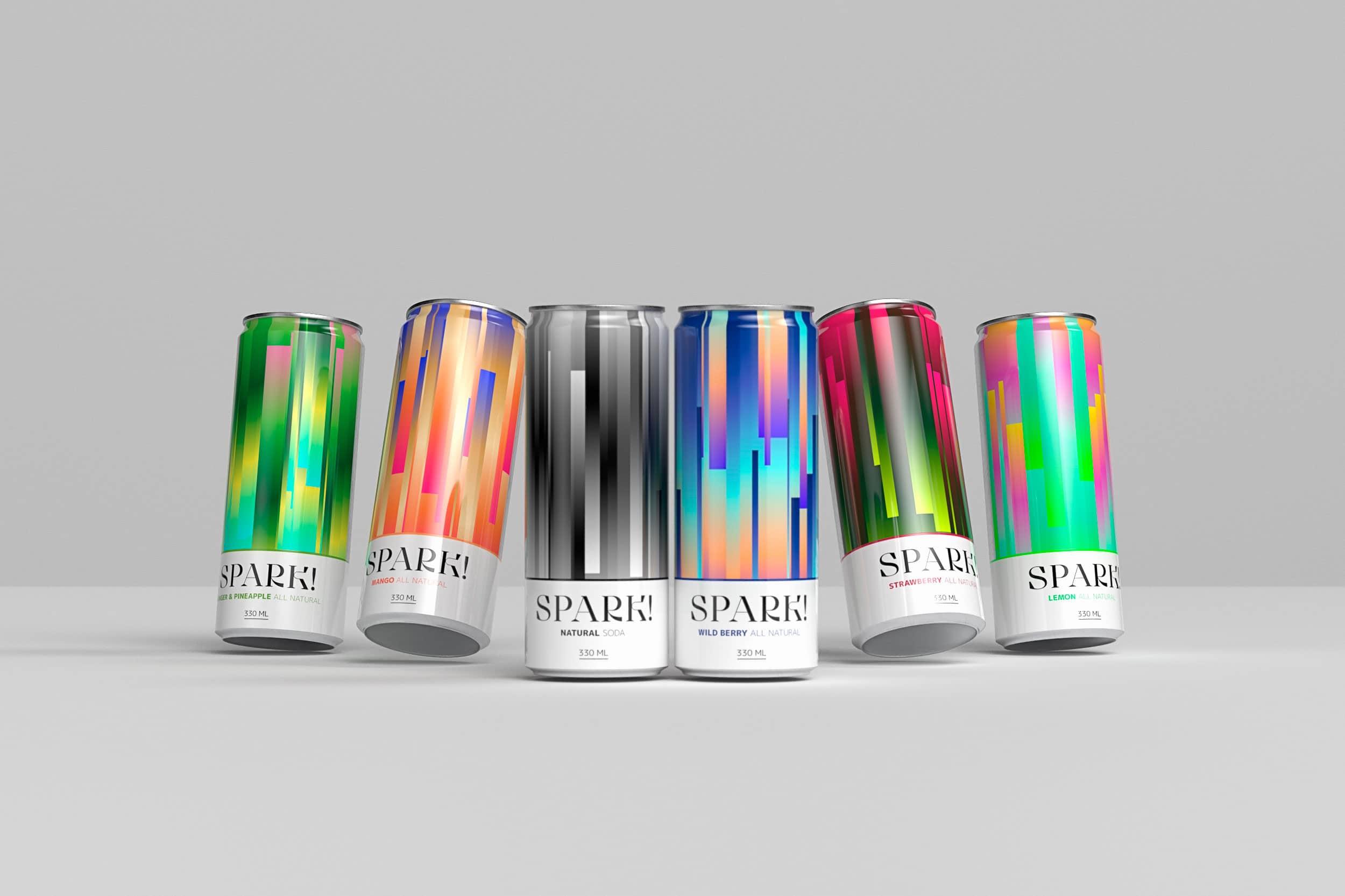 Gamme Spark! 6 canettes, 6 parfums !