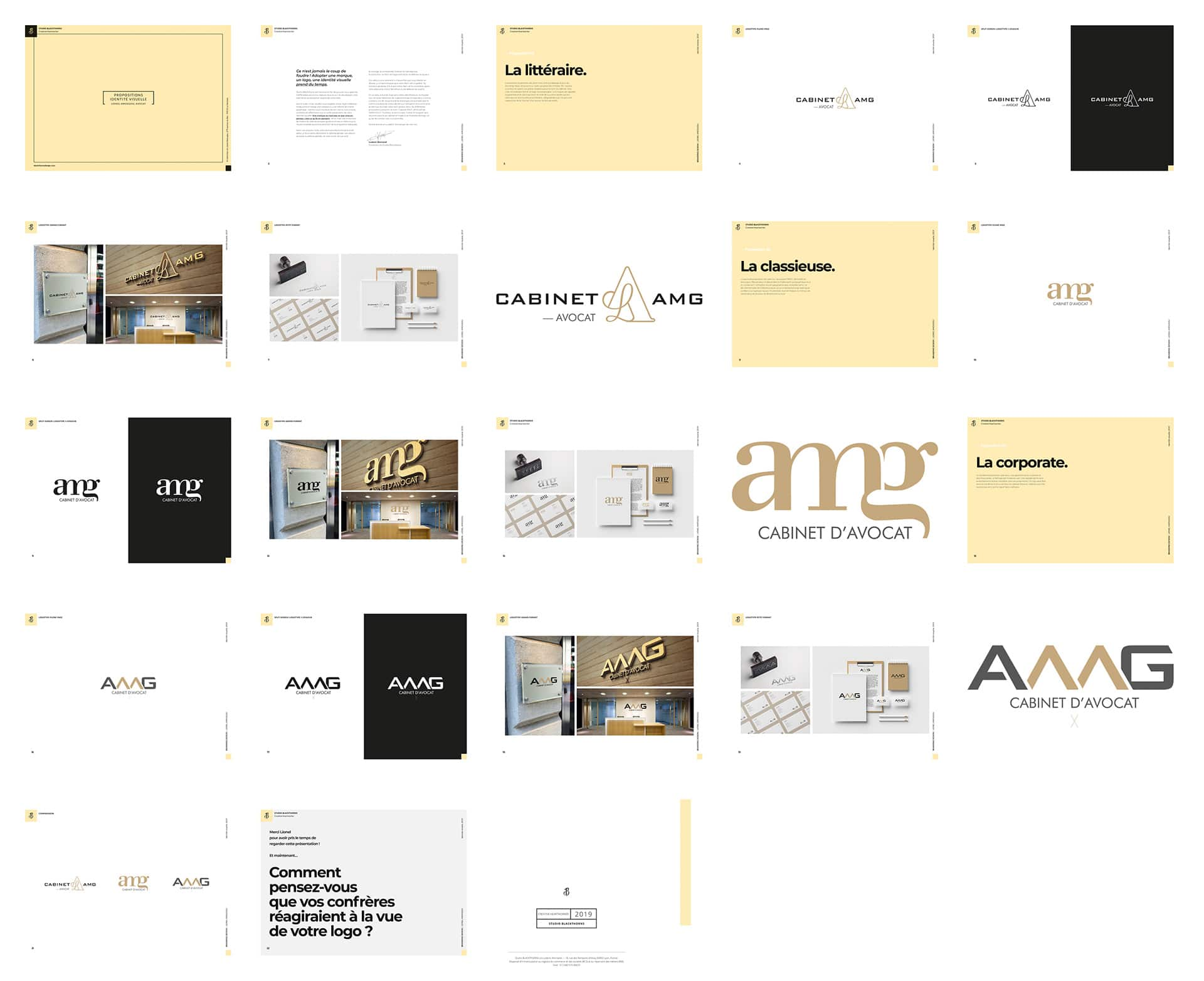 l&#039 Strategic Plan; AMG Cabinet Visual Identity