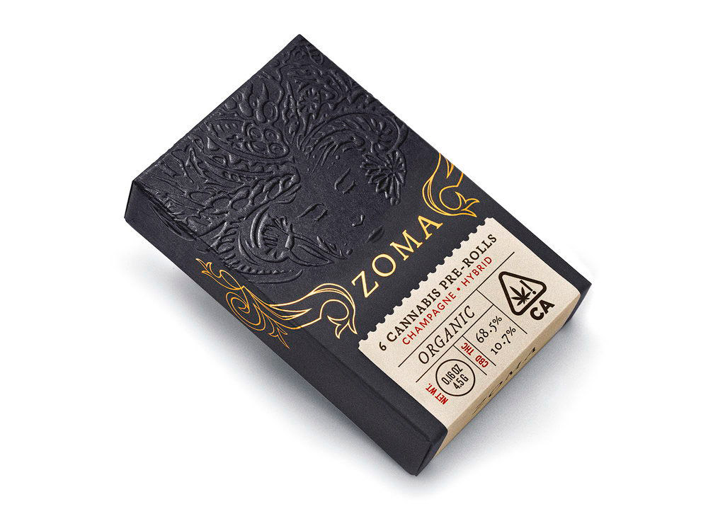 Zoma, Packaging de cannabis